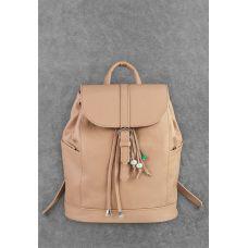 Кожаный рюкзак BLANKNOTE Олсен крем-брюле