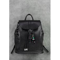 Кожаный рюкзак BLANKNOTE Олсен оникс