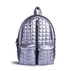 Рюкзак FUSION SILVER BAR стьобаний срібний