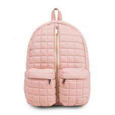 Рюкзак FUSION Dusty Pink стьобаний рожевий