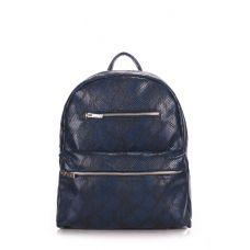 Рюкзак жіночий POOLPARTY Mini mini-bckpck-snake-darkblue синій
