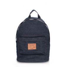 Рюкзак молодежный POOLPARTY backpack-jeans синий