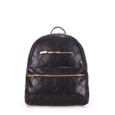 Рюкзак жіночий POOLPARTY Mini mini-bckpck-snake-black чорний