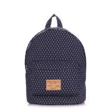 Рюкзак молодежный POOLPARTY backpack-anchor-darkblue синий