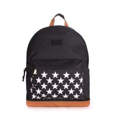 Рюкзак молодежный POOLPARTY backpack-stars-black черный