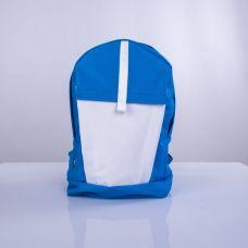 Бирюзово-белый рюкзак TWINSSTORE Р10